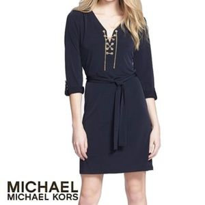 Great condition Michael Kors Chain Dress NAVY